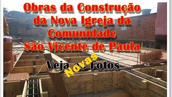 Reconstrução da Capela da Comunidade São Vicente de Paula