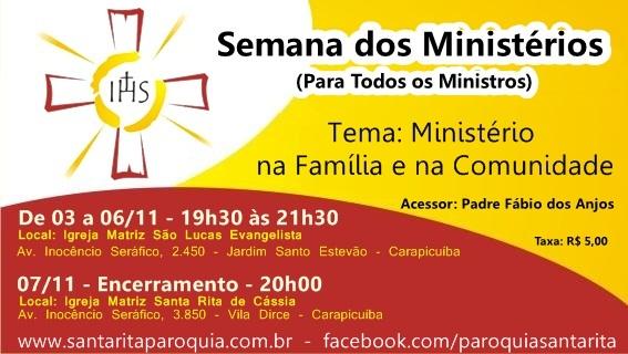 Semana dos Ministérios 2014