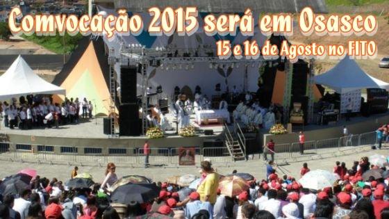 Comvocação 2015 será em Osasco