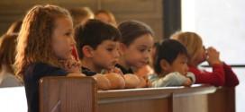 Seus filhos vão com você à Missa?